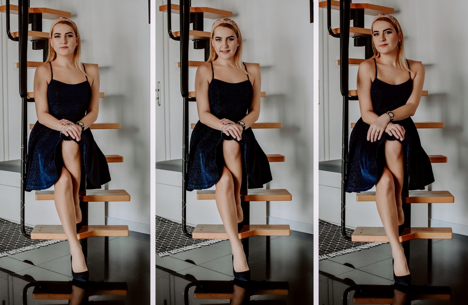 Romantyczna stylizacja z wykorzystaniem sukienki od Ever Pretty