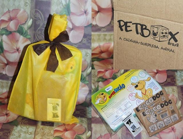 petbox assinatura gratuita para cães gatos pet dog cat box surpresa tapete higiênico facinhos.net ecocôdog