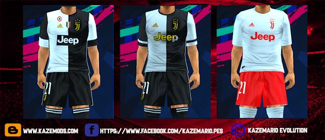 Juventus Leaked Kit Season 2019-2020 PES PSP For Emulator PPSSPP