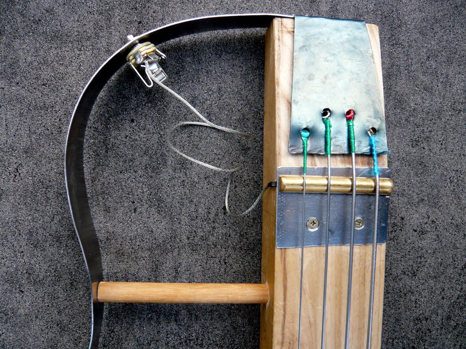 inneresting handmade diy fretless bass thing. Black Bedroom Furniture Sets. Home Design Ideas