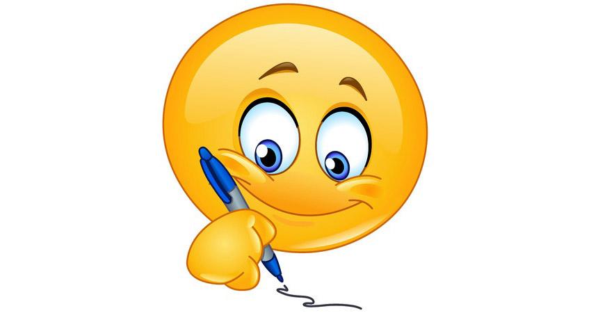 Writing Smiley  Symbols  Emoticons