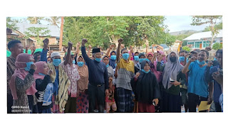 Jangan Dianggap Sepele, Aksi Blusukan H Arifin Terus Menuai Simpati Rakyat
