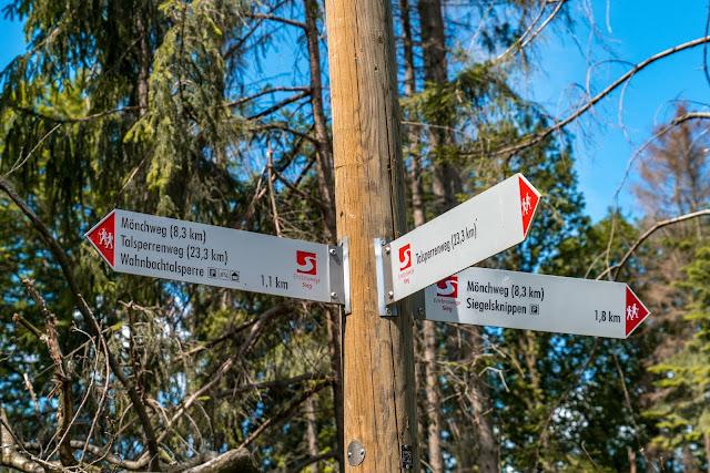 Talsperrenweg Siegburg | Wahnbachtalsperre | Erlebnisweg Sieg | Naturregion Sieg 01