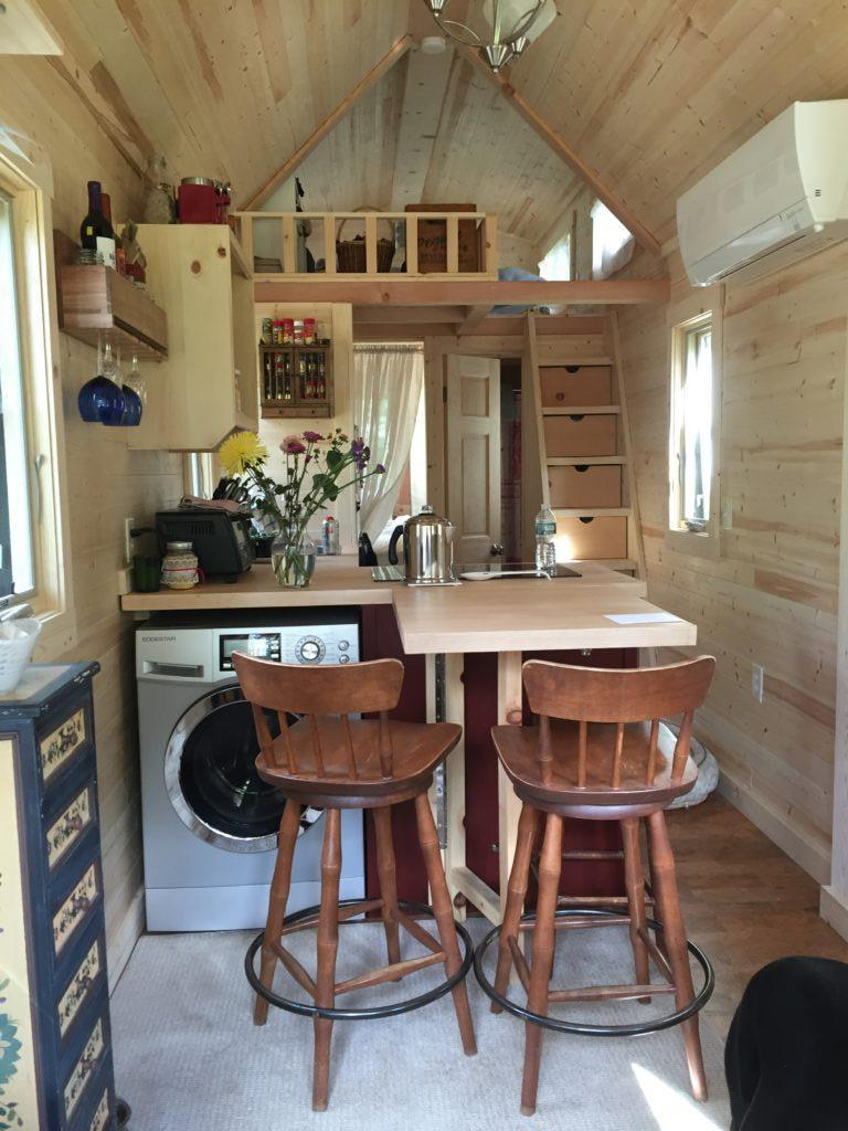 Tiny Kitchen Appliances Painted Chairs House Town: 26' Tumbleweed Cypress Equator Model For Sale