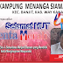 Kampung Menanga Siamang mengucapkan selamat HUT 4Tahun Genta Merah