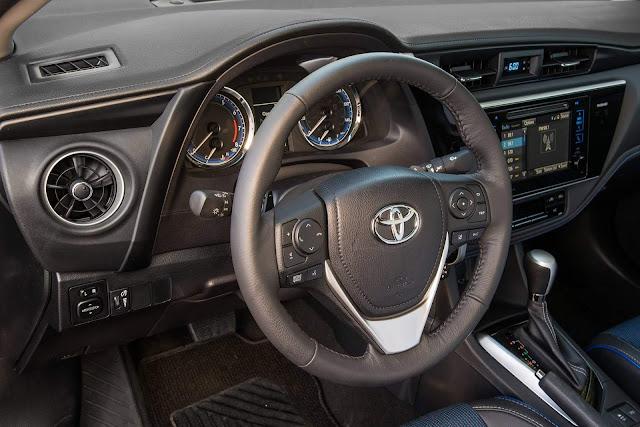 Novo Toyota Corolla 2018 - painel