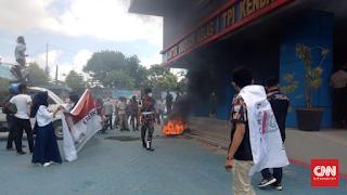 Demo Tolak 49 TKA China di Kendari Berujung Adu Jotos