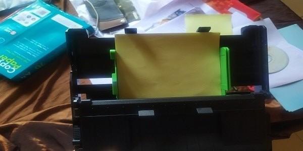 cara print label cd diprinter brother