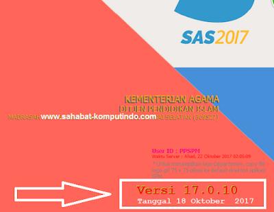 Update SAS 17.0.10