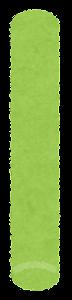 チョークのイラスト(緑)