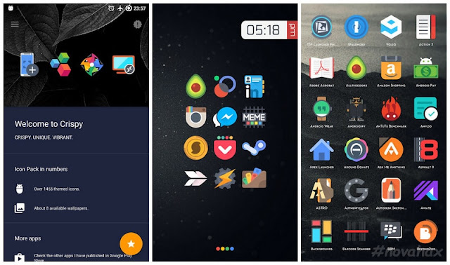 Crispy icon pack full APK