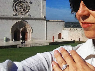 anel tau sao francisco joias Humilis - Souvenir em Roma