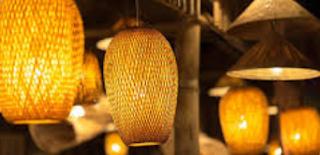 Trik Membikin Sendiri Lampu Hias Eksotik, Lighting dari Bambu