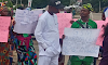 Senior Citizens Protest Appointment of 27-Year Old Seun Fakorede as Commissioner in Oyo State (Photos)