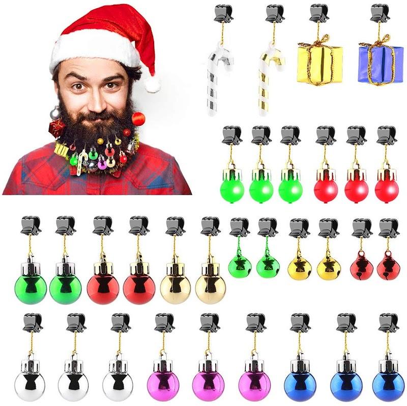 Christmas Light Beard Ornament 30% OFF