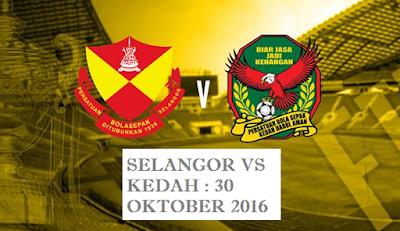Tiket Final Piala Malaysia 2016 Selangor Vs Kedah
