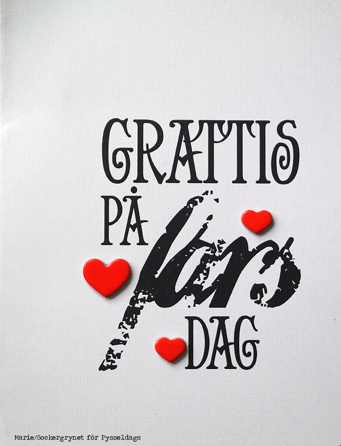 grattis på fars dag kort Pysseldags: Grattis på fars dag! grattis på fars dag kort