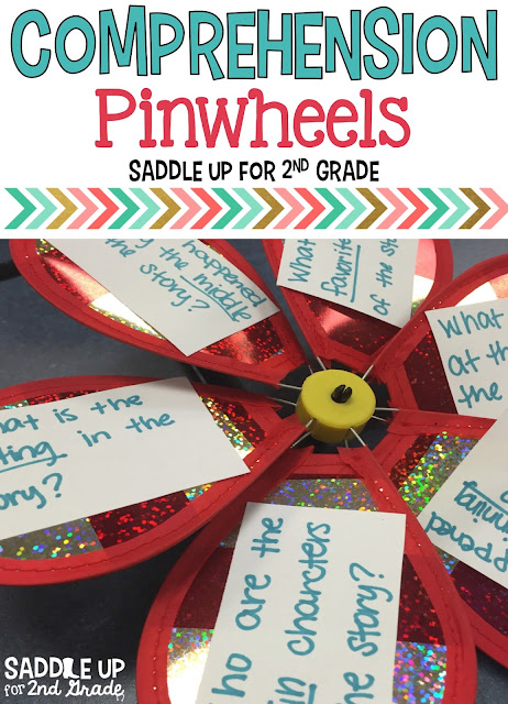 Comprehension Pinwheels are a fun and unique way to check for understanding during your small group time. Come check out these fun tools that you can use for all subject areas.