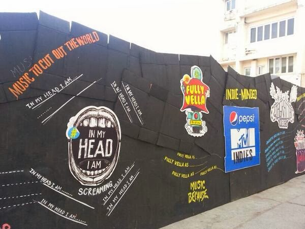 Posters and banners of Big Indies Party