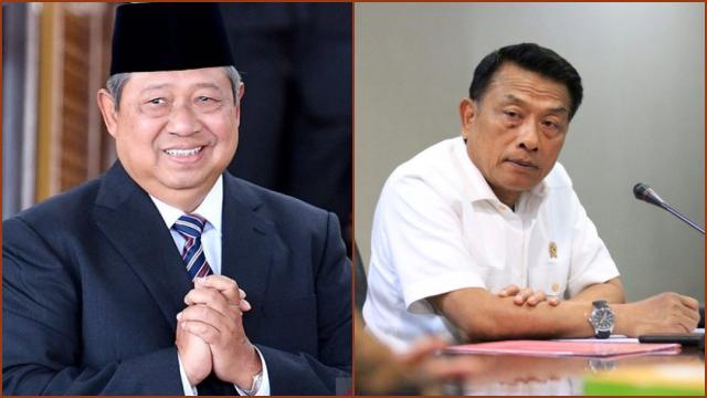 SBY Dinilai Pasang Jebakan Batman untuk Moeldoko