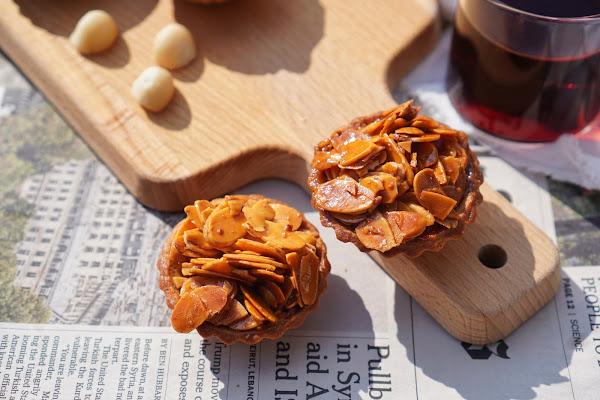 台南東區美食【LADY MAMA 私房點心】餐點介紹-楓糖杏芙塔