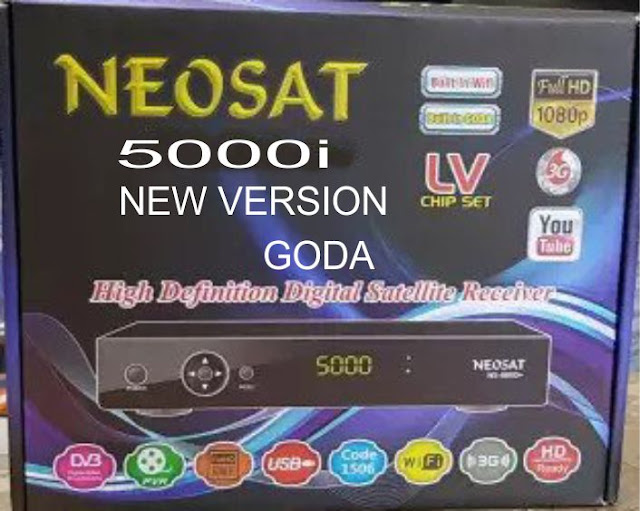 Neosat 5000i HD Lv Chip Type Receiver New Software