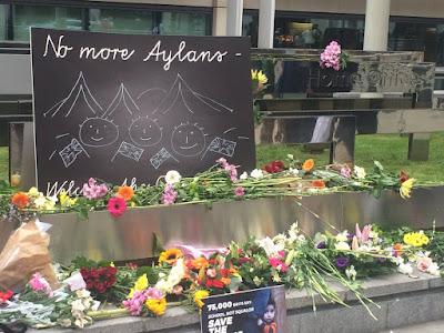 Aylan memorial
