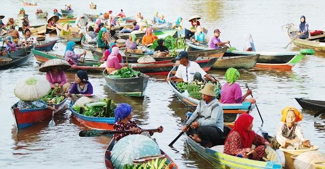 Warisan Sejarah Pasar Terapung Banjarmasin yang Masih di Lestarikan