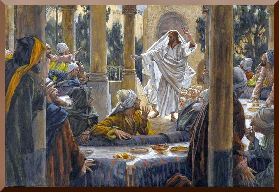 """Curses Against the Pharisees"" -- by James Tissot"