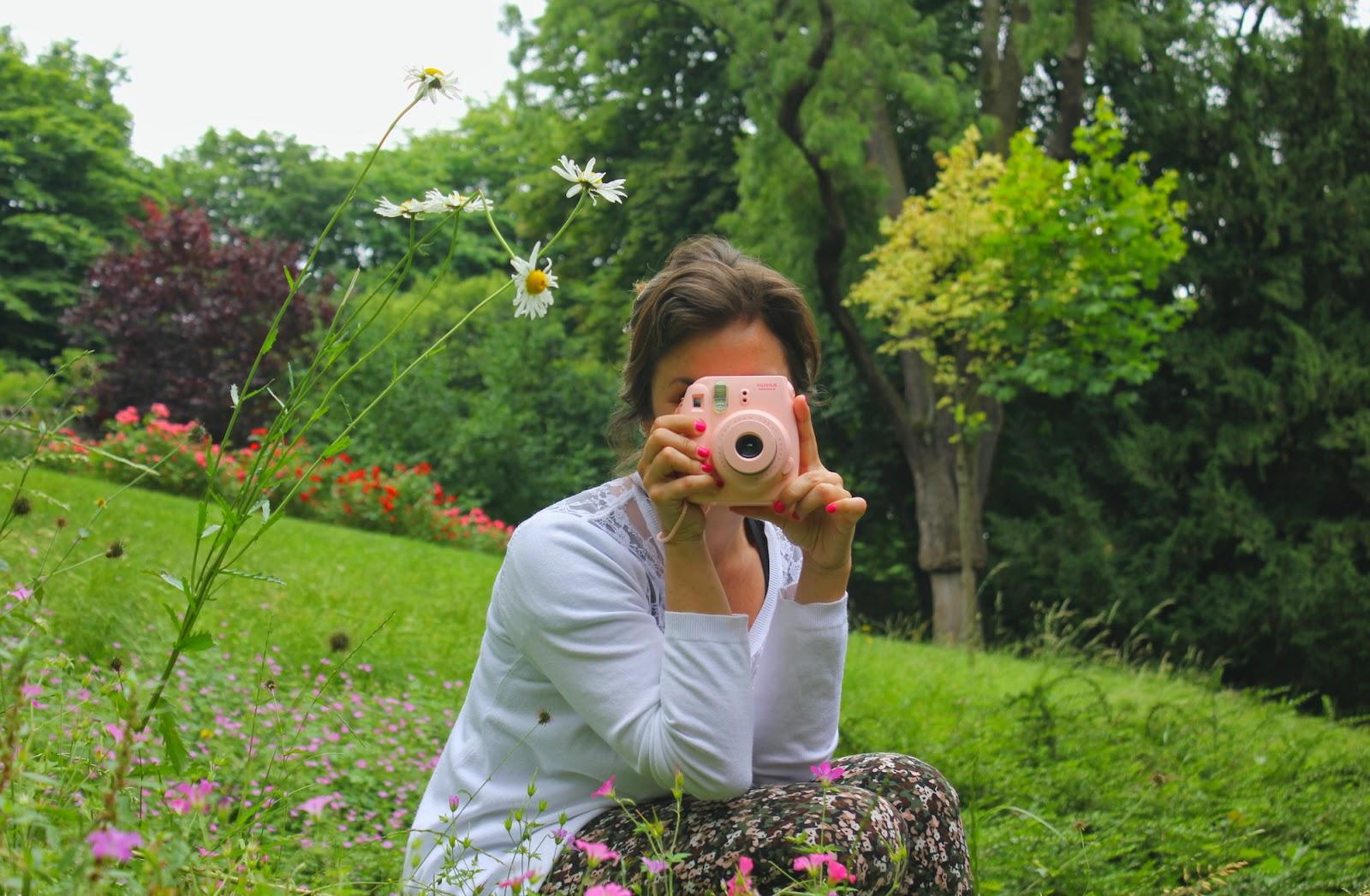 Io & la mia Instax rosa, è amore!