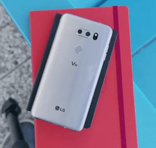 LG V40 BACK VIEW