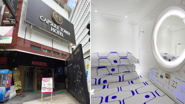 Capsule Town Hotel, Kuala Lumpur