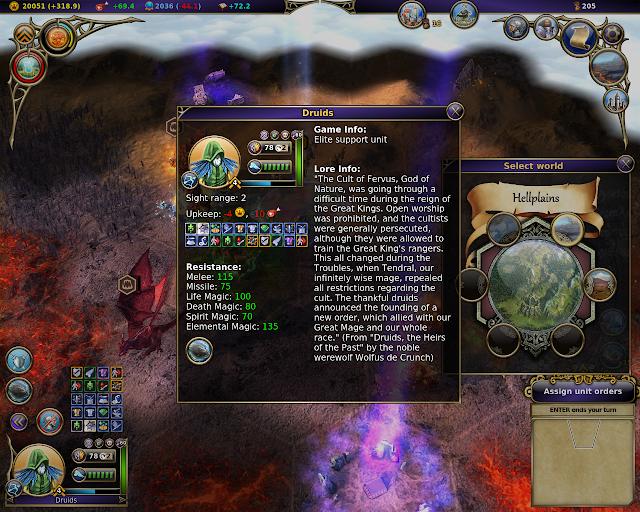 Druids | Warlock - Master of the Arcane screenshot
