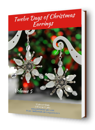 Twelve Days of Christmas Earrings ebook - Vol 5 front cover