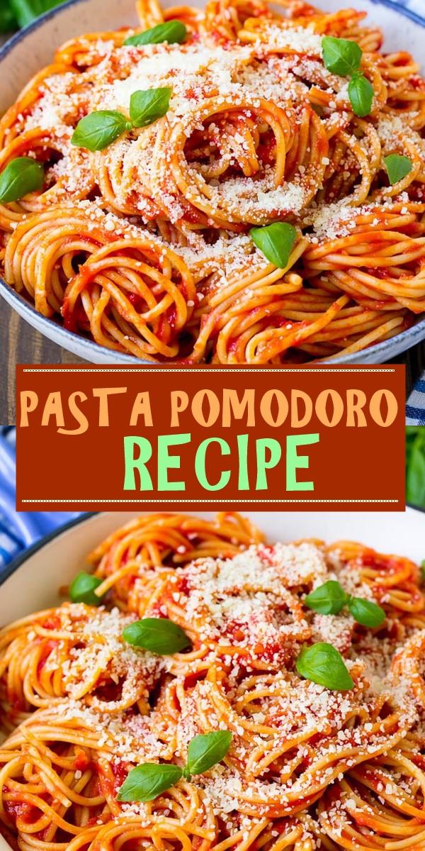 PASTA POMODORO RECIPE #pastarecipes