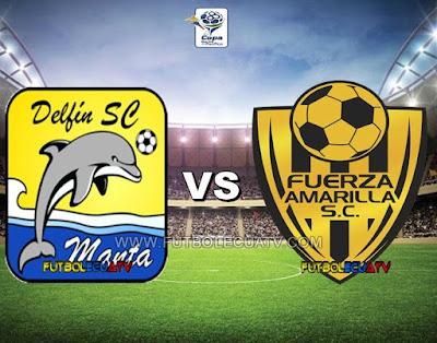 Delfín SC vs Fuerza Amarilla - Sábado 09 de Diciembre del 2017 - Partido Jornada 22