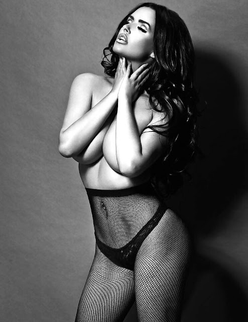 Abigail-Ratchford-in-Black&White-hottest-photo-ever