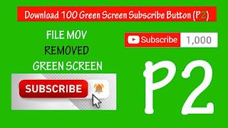 Hiệu ứng nền xanh đăng ký Youtube