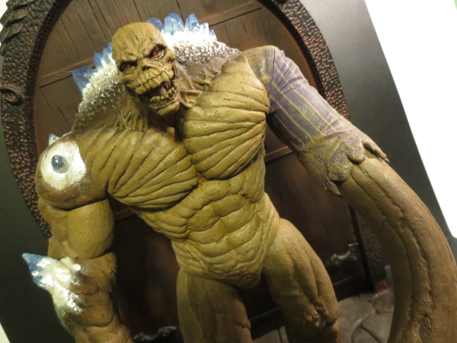 16bit.com Figure of the Day Review: Kenner Batman: The ...  |Clayface Action Figure