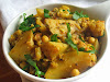 Aloo Gobi with Chickpeas