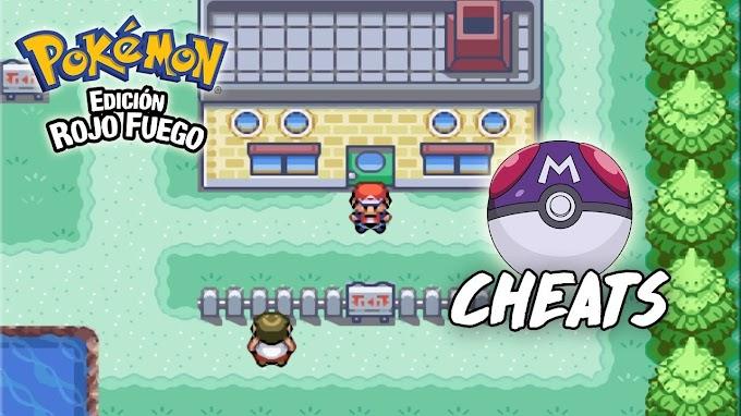 Master Ball Infinitas   Cheats Pokémon Rojo Fuego y Verde Hoja (GBA)