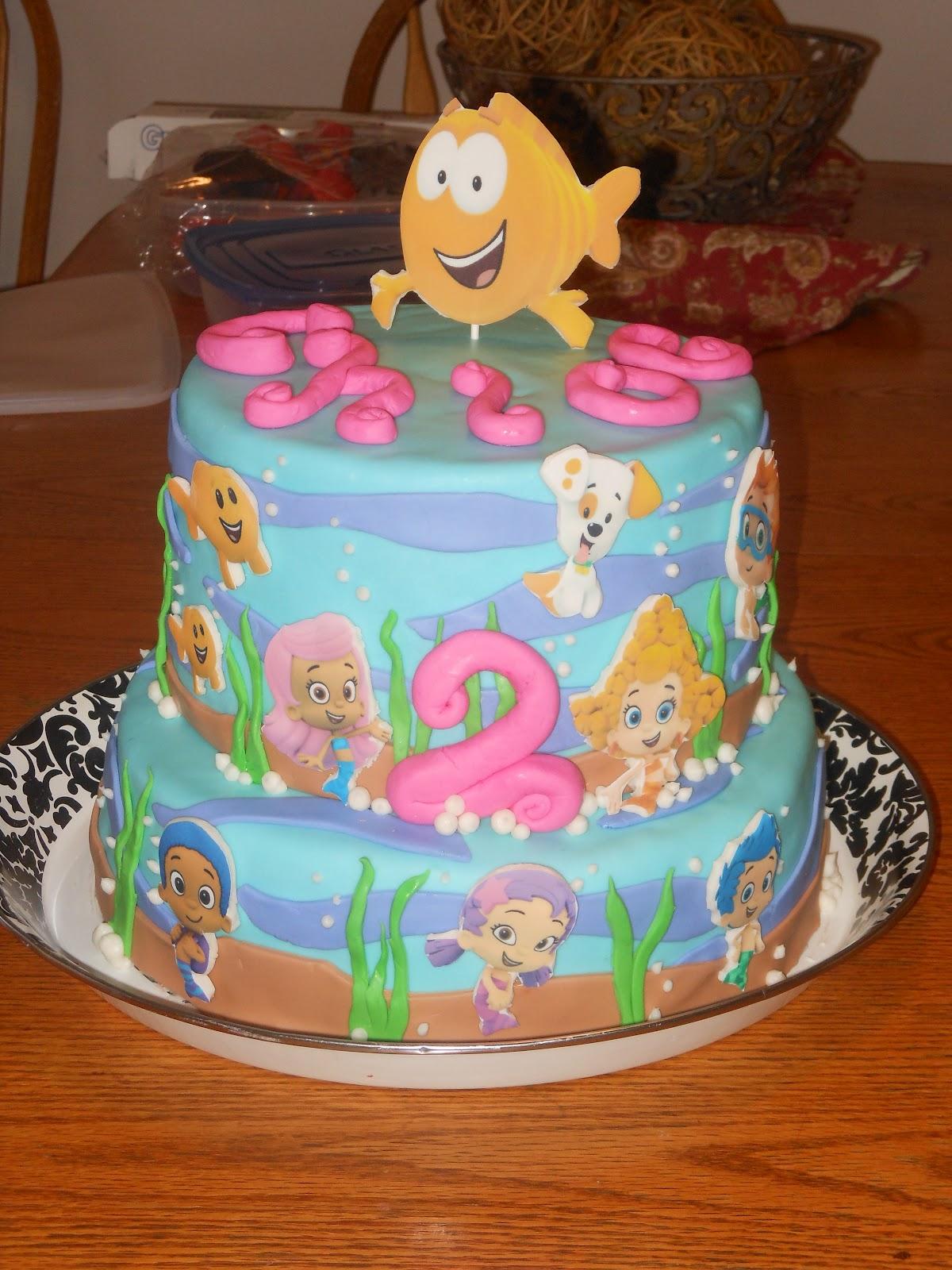 Patty Cakes Bubble Guppies Cake