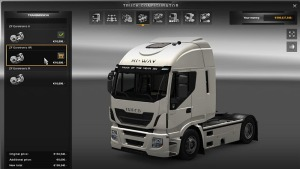 6 Speed Manual transmission for Iveco Hi-Way