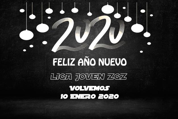 FELIZ 2020: La Liga Joven ZGZ regresa este viernes
