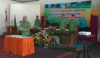 Anggota Hakli Kabupaten Sukabumi disumpah