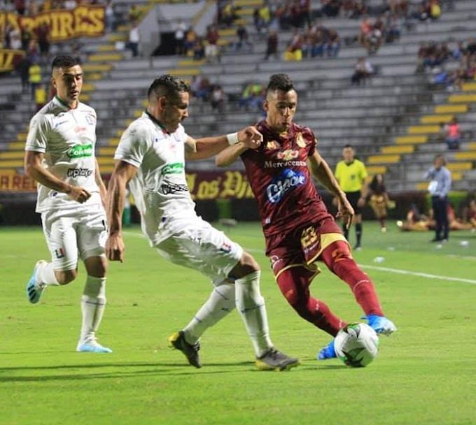 Tímido empate del DEPORTES TOLIMA ante Once Caldas: Dos puntos que se fueron del Murillo Toro