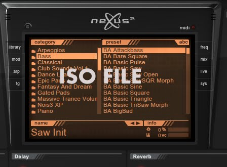 Nexus 2 Iso file format, How to install ?