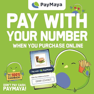 Shop online and pay using only your mobile number with 'Pay with PayMaya'!