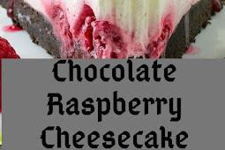 No Bake White Chocolate Raspberry Cheesecake Recipe