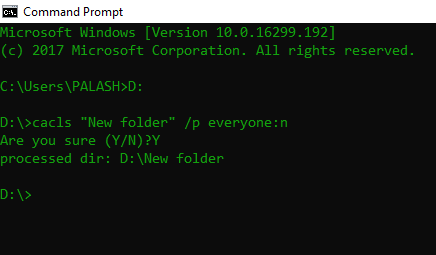 How To Password Protect a Folder in Windows 10 Using CMD | TechNews